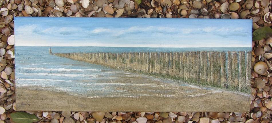 Strandpalen als herinnering